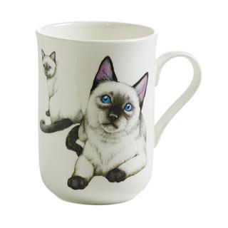 Porcelánový Hrnek Cashmere PETS CAT Siamská kočka 300 ml - Maxwell&Williams