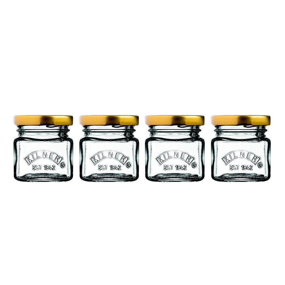 Set mini zavařovacích sklenic 4ks 55 ml - Kilner