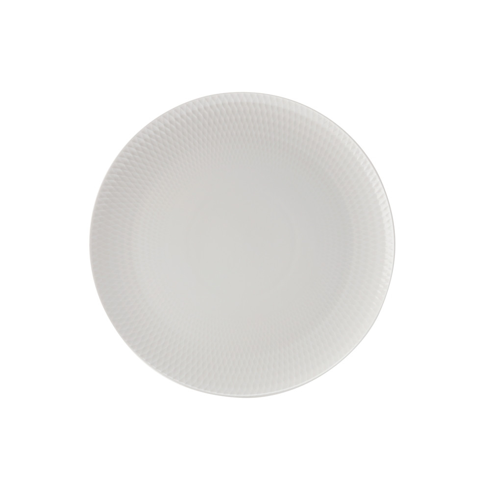 Porcelánový mělký talíř DIAMONDS 30 cm - Maxwell&Williams