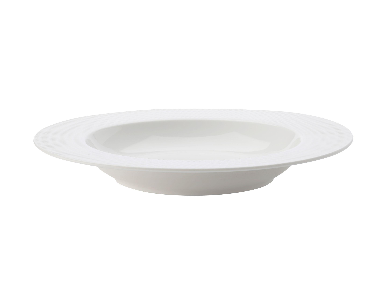 Porcelánový talíř na polévku DIAMONDS 22,5 cm - Maxwell&Williams