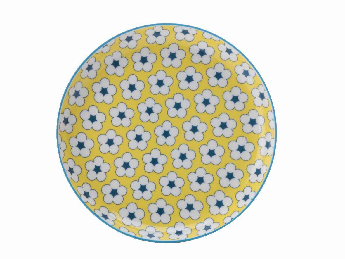 Dezertní talíř Cotton Bud 18,5 cm žlutý - Maxwell&Williams