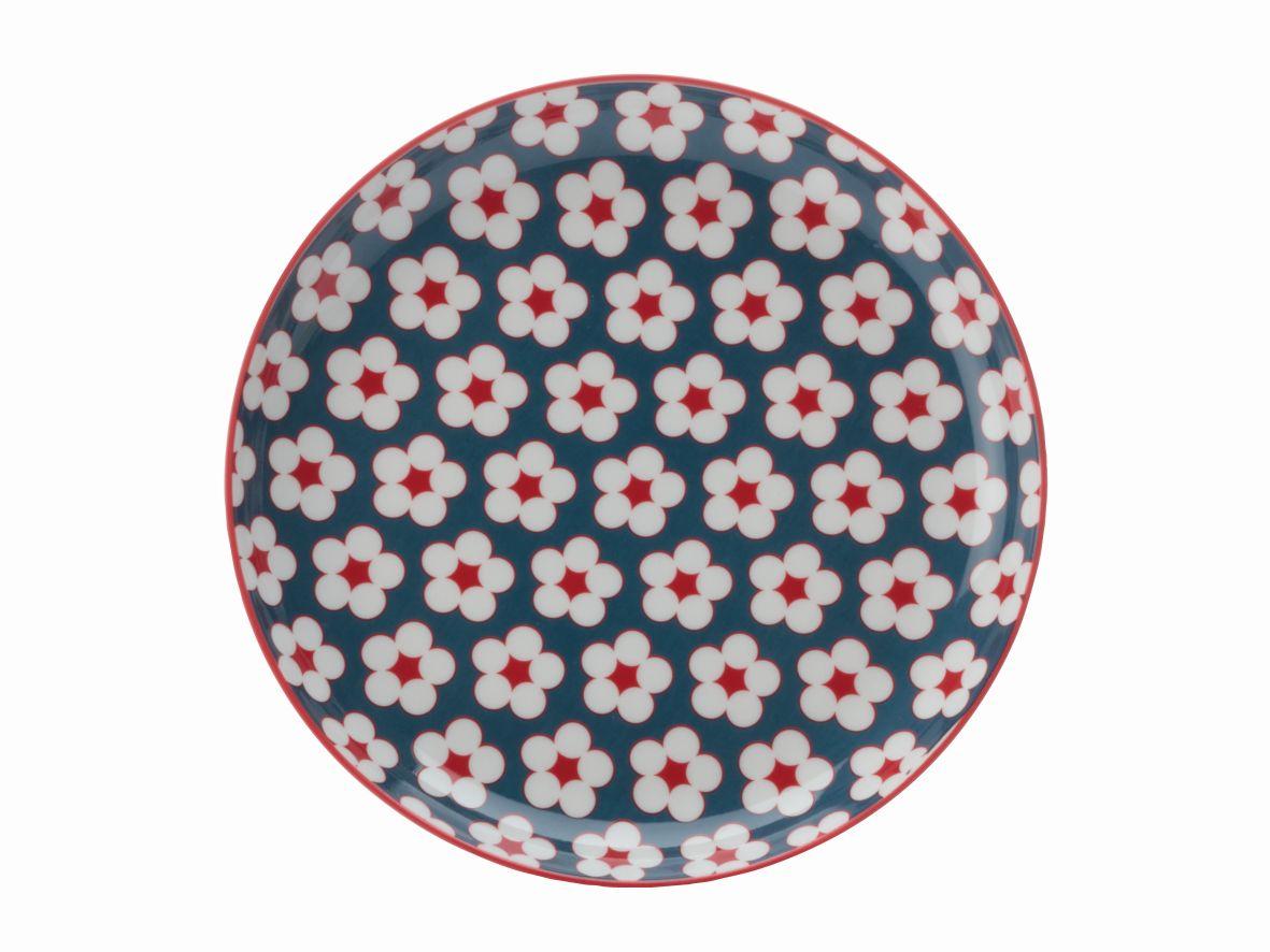Dezertní talíř Cotton Bud 18,5 cm tmavě modrá - Maxwell&Williams