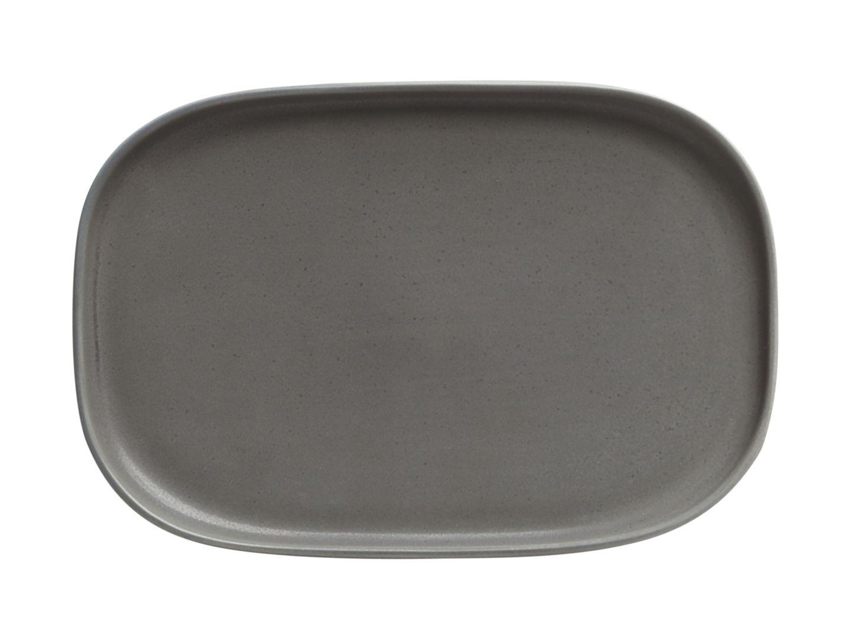 Obdélníkový mělký talíř Elemental 20 x 14 cm Charcoal - Maxwell&Williams