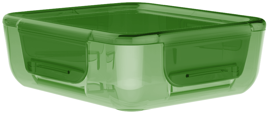 Krabička na jídlo Easy-Keep 700 ml zelená - Aladdin