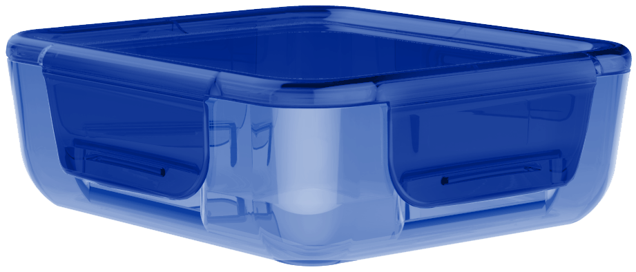 Krabička na jídlo Easy-Keep 700 ml modrá - Aladdin
