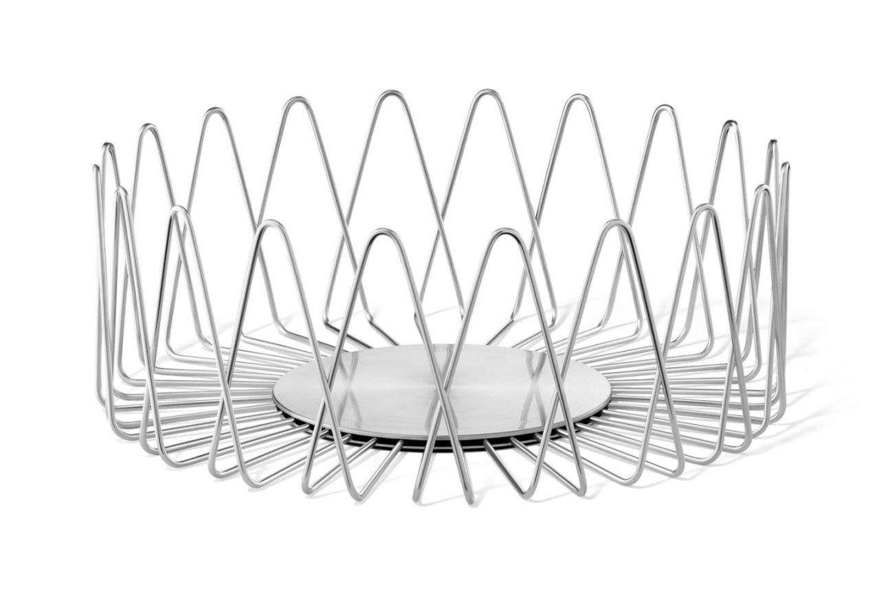 Nerezový košík na pečivo BIVIO, 30,5 cm - ZACK