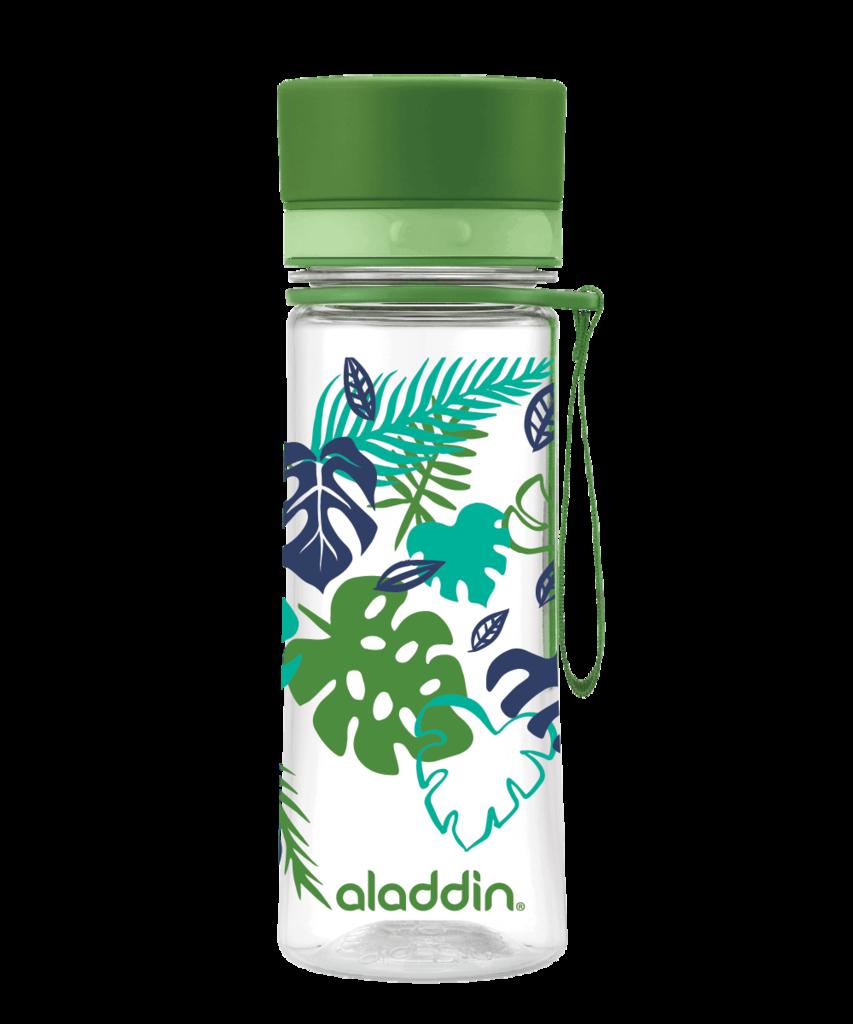 Láhev na vodu 350ml zelená s potiskem AVEO - Aladdin