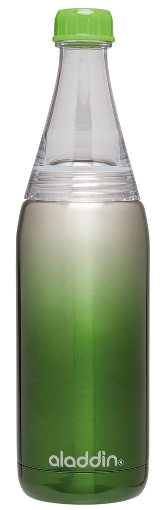 Fresco láhev na vodu 600ml zelená Twist&Go - Aladdin