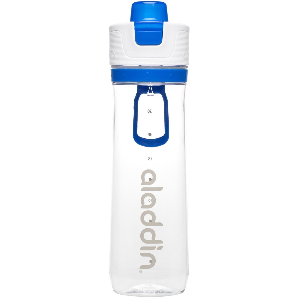 Sportovní láhev na vodu s počítadlem 800ml modrá - Aladdin