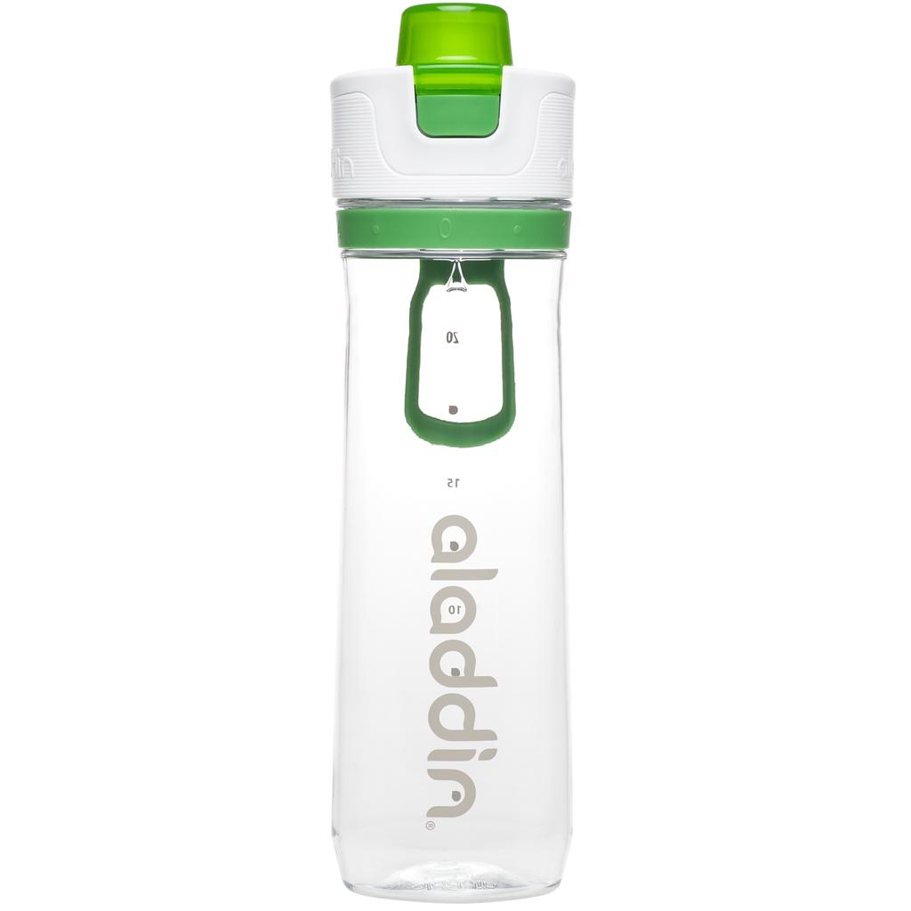 Sportovní láhev na vodu s počítadlem 800ml zelená - Aladdin
