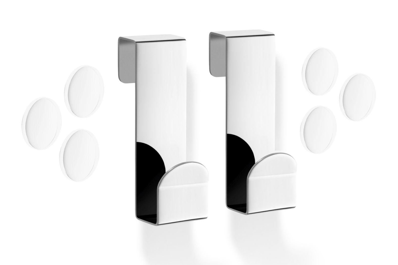 Sada 2 ks háčků na skleněné dveře MITOR - ZACK