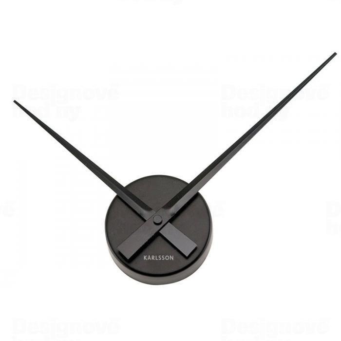 Nástěnné hodiny Little Big Time Mini 44 cm černé - Karlsson