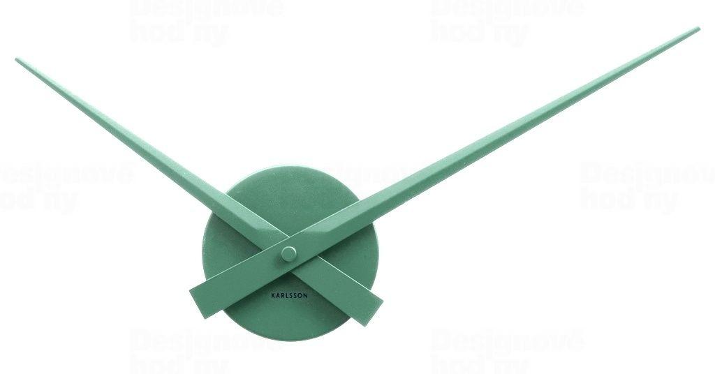 Nástěnné hodiny Little Big Time Mini 44 cm zelené - Karlsson
