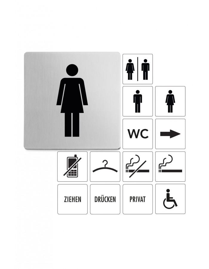 Tabulka s obrázkem žena - ZACK