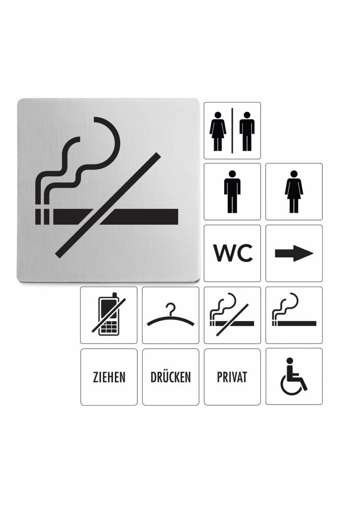 Tabulka zákaz kouření - ZACK