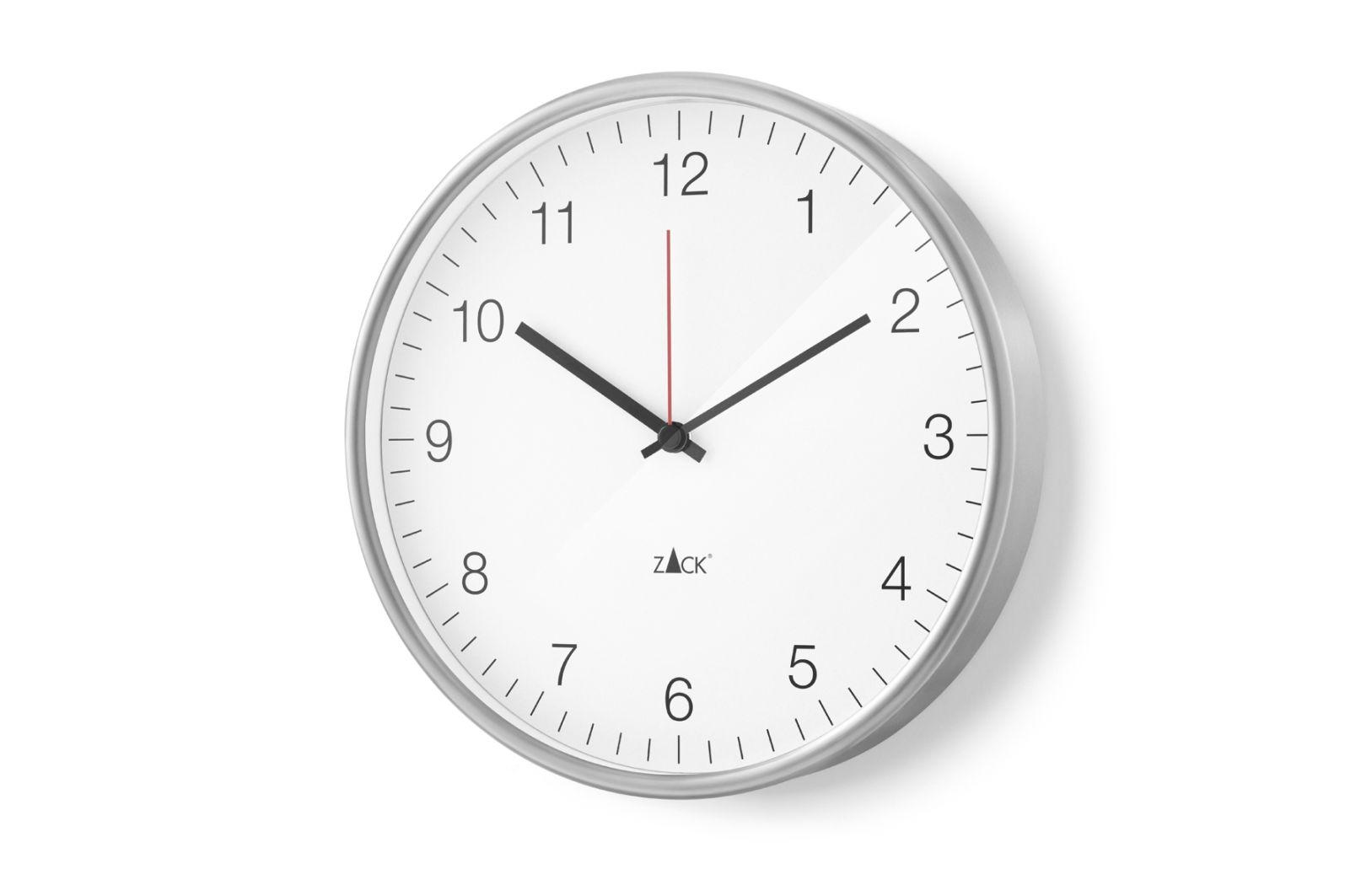 Nástěnné hodiny PALLA, 30 cm bílé - ZACK