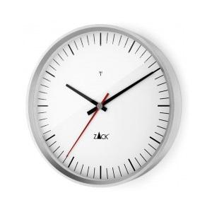 Nástěnné hodiny VIDA, bílé 24 cm - ZACK