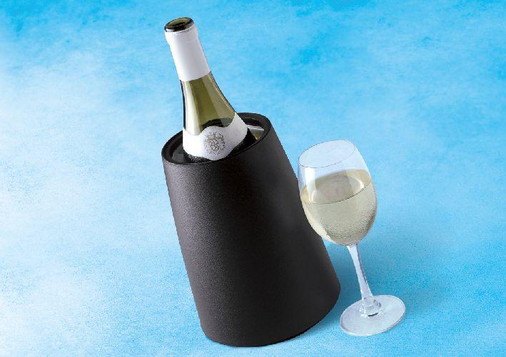 Chladič vína černý Rapid Ice Wine - Vacuvin