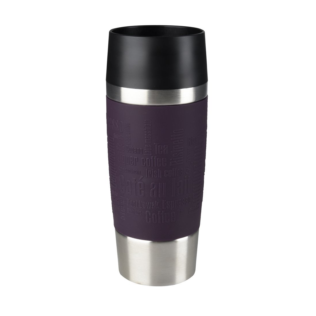 Termohrnek TRAVEL MUG Quick press 360 ml ostružinový - Emsa