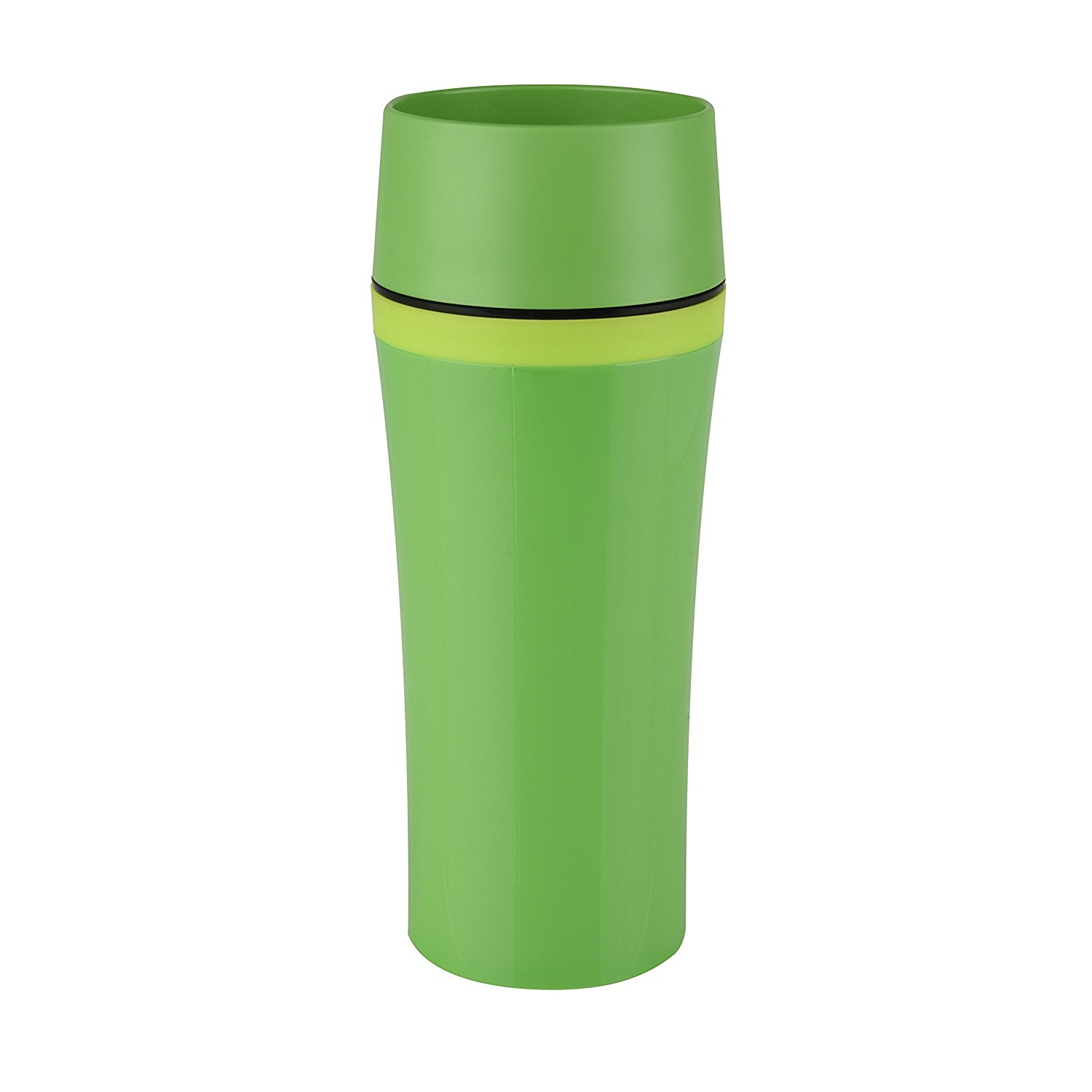 Termohrnek TRAVEL MUG FUN Quick press 360 ml zelený - Emsa