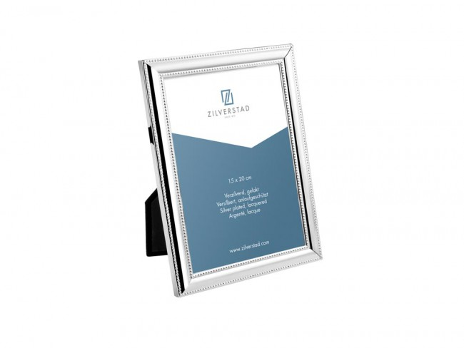 PEARL rámeček na fotografii 15x20 cm, stříbrný - Zilverstad