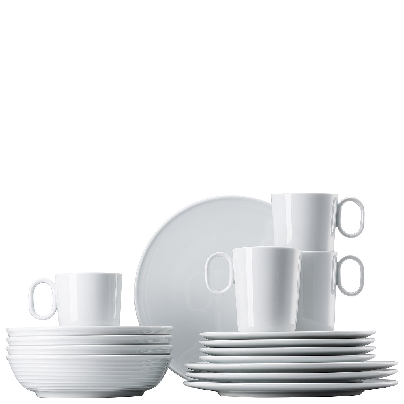 ONO porcelánový jídelní set s hrnky ,16ks - Thomas Rosenthal