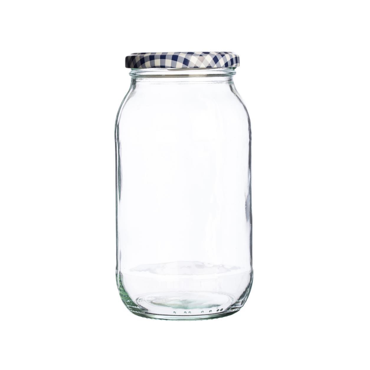 KILNER kulatá sklenice 725 ml, šroubovací - Kilner