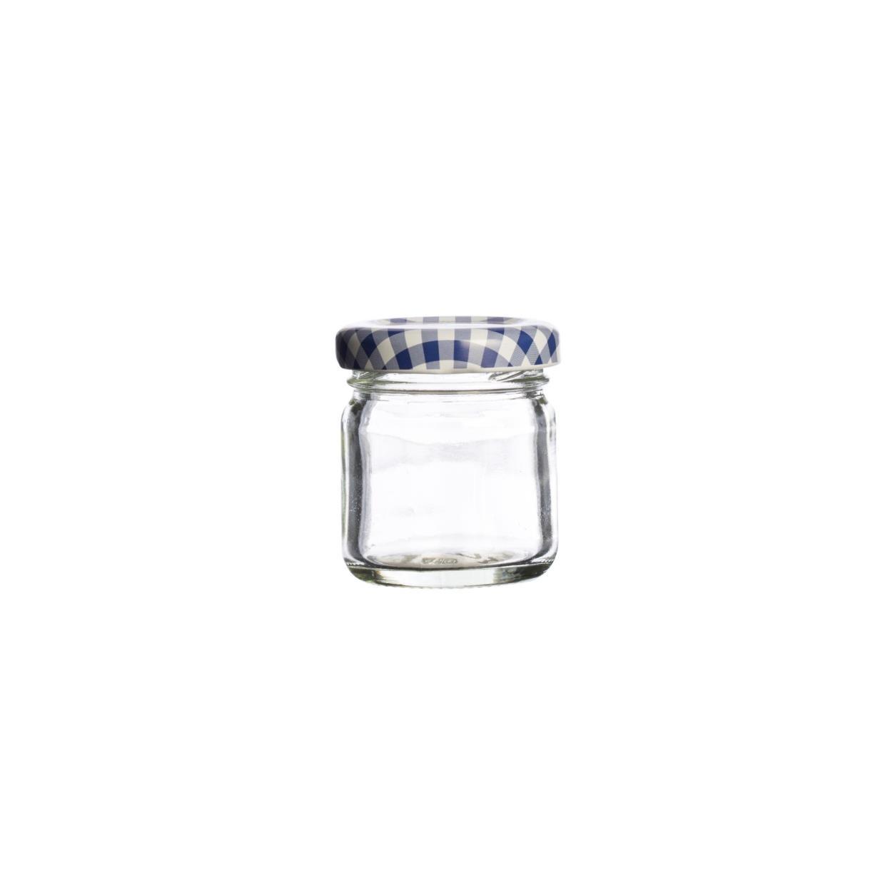 KILNER kulatá sklenice 43 ml, šroubovací - Kilner