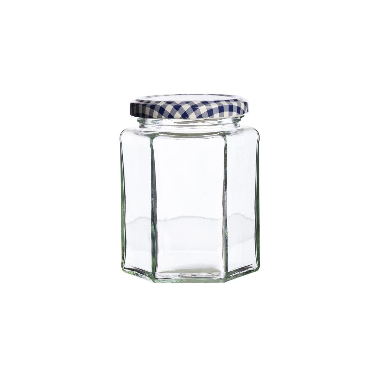 KILNER hranatá sklenice 280 ml, šroubovací - Kilner- Kilner