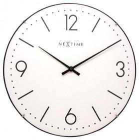 Nástěnné hodiny Basic Dome 35 cm - NEXTIME