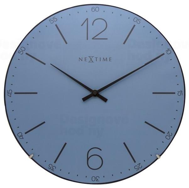 Nástěnné hodiny Index Dome 35 cm - NEXTIME