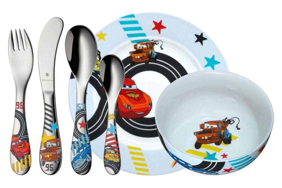 Dětský jídelní set 6-dílný AUTA 2 - WMF