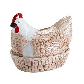 Hnízdo na vejce lesklé - Hen Nests - Mason Cash