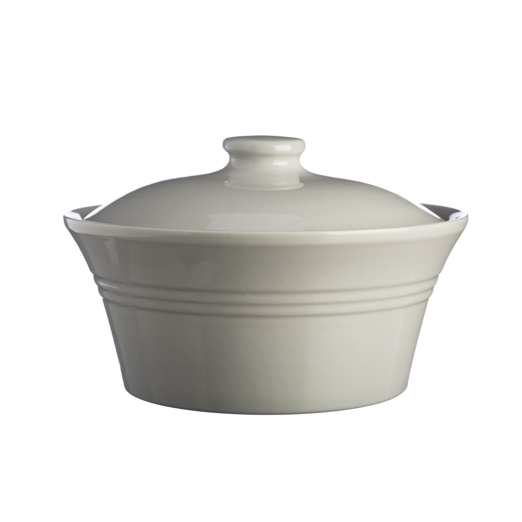Kastrol s poklicí Grey 25,5x25,5 cm - 2,5l Classic Kitchen - Mason Cash