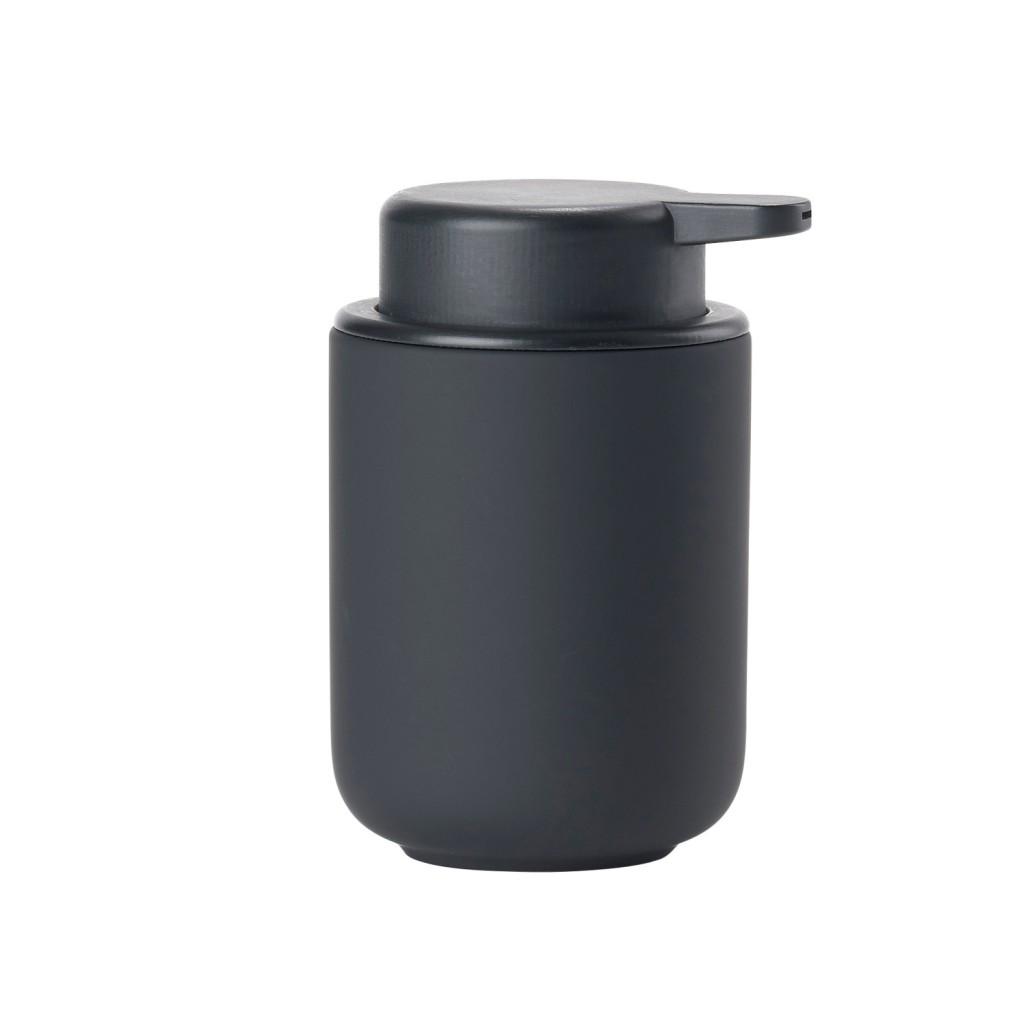 Dávkovač na tekuté mýdlo BULLI, černý - Zone