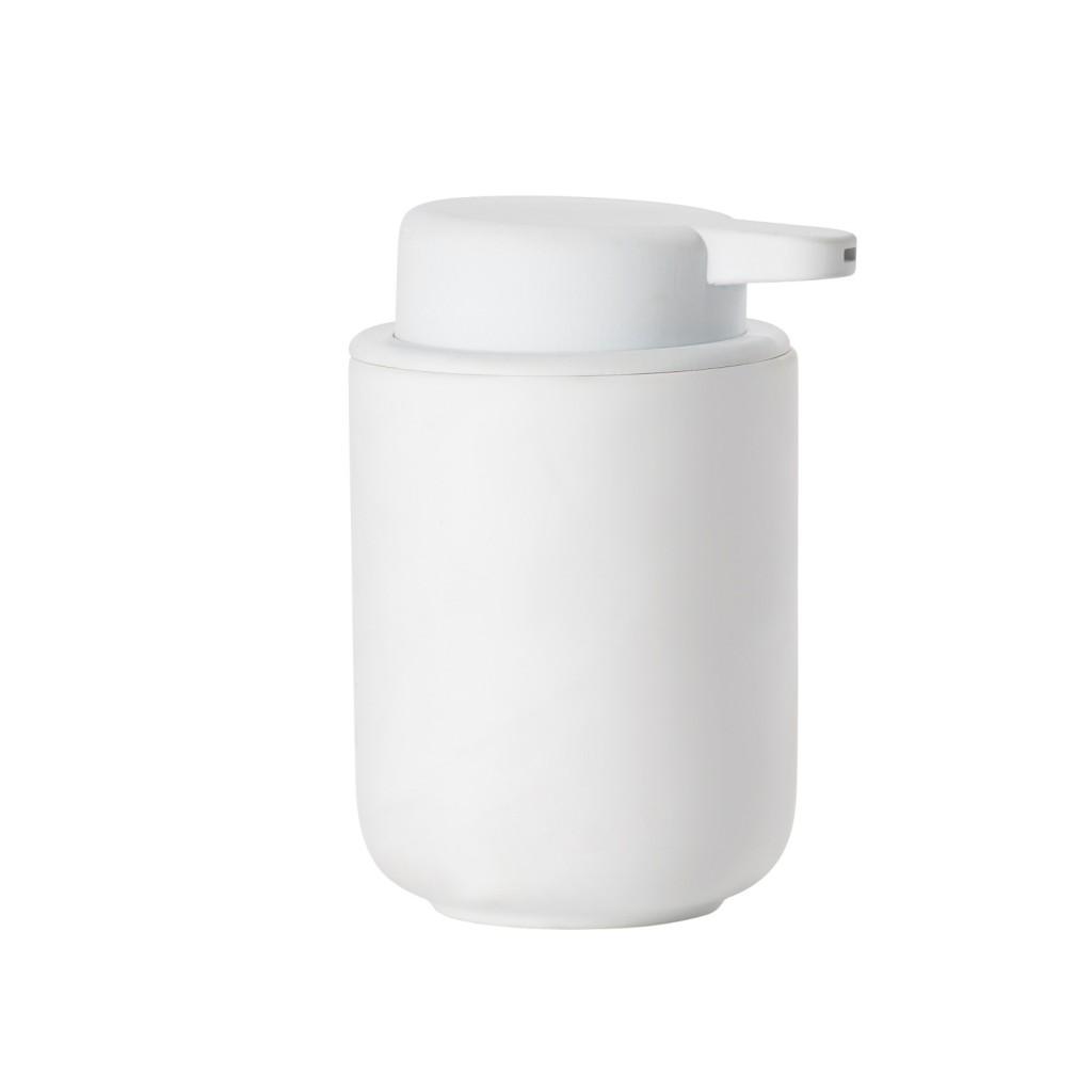 Dávkovač na tekuté mýdlo BULLI, bílý - Zone