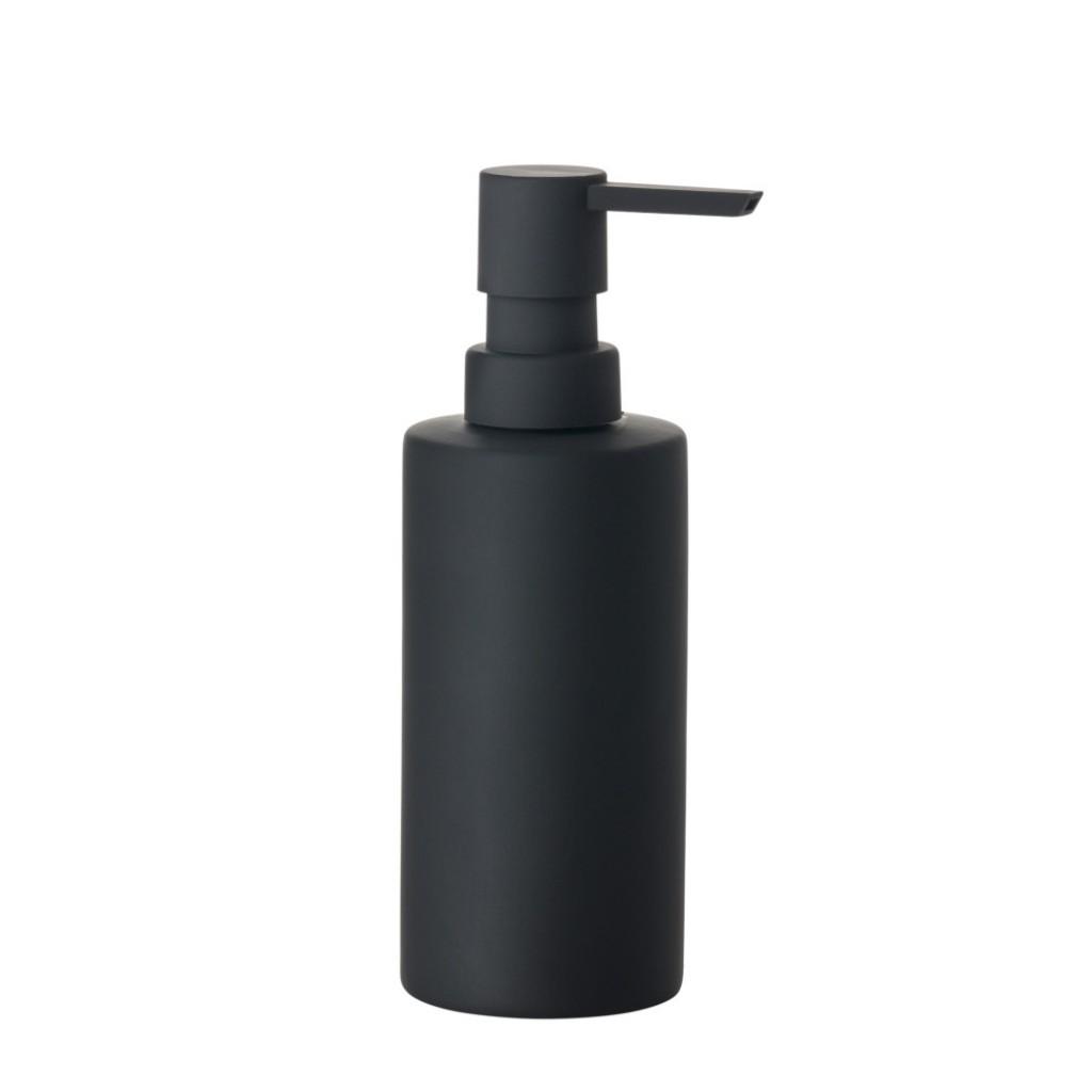 Dávkovač na tekuté mýdlo SOLO, černý - Zone