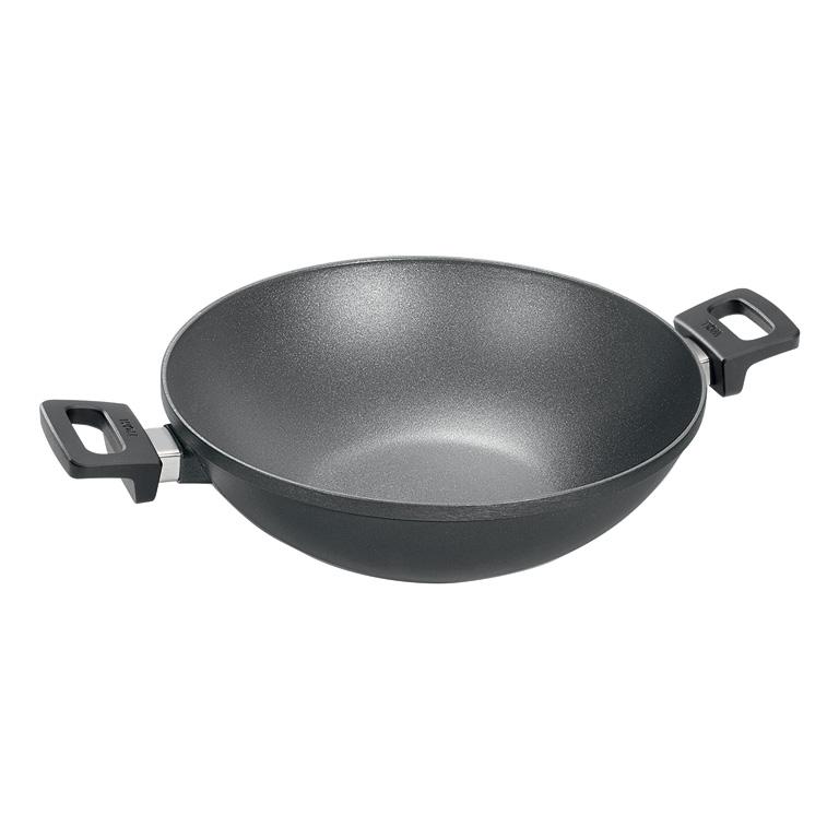 Wok Pánev Titanium Nowo neindukční 32 cm - WOLL