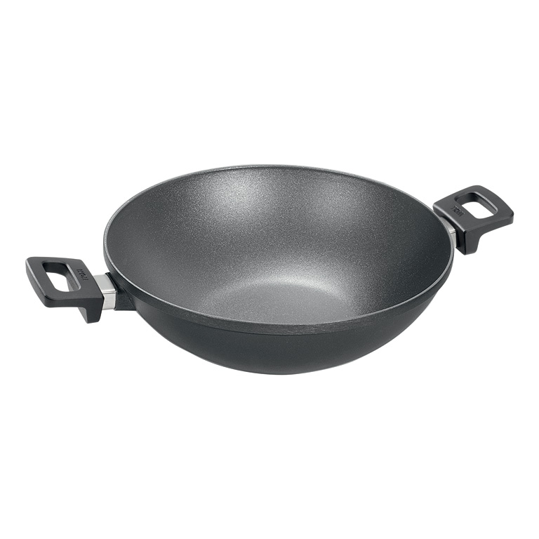 Wok Pánev Titanium Nowo neindukční 36 cm - WOLL