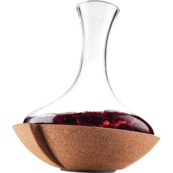 Dekantér karafa na víno Vacu Vin Swirling 2 l točící se - Vacuvin