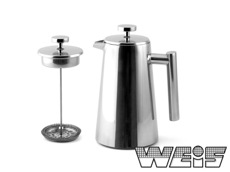 Stlačovací Kávovar 1500ml - Weis