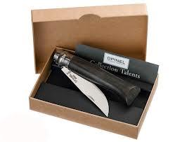 Dárkové balení Opinel VR N°08 Inox Ebony, 8,5 cm - Opinel