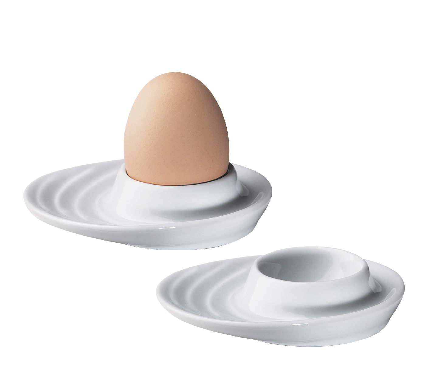 Set 2 kalíšků na vajíčka oválný BURGUND - Küchenprofi