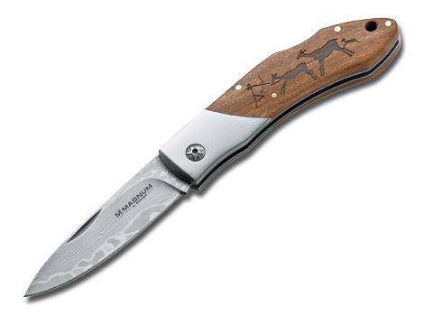 Zavírací nůž Magnum Caveman Damast - Böker