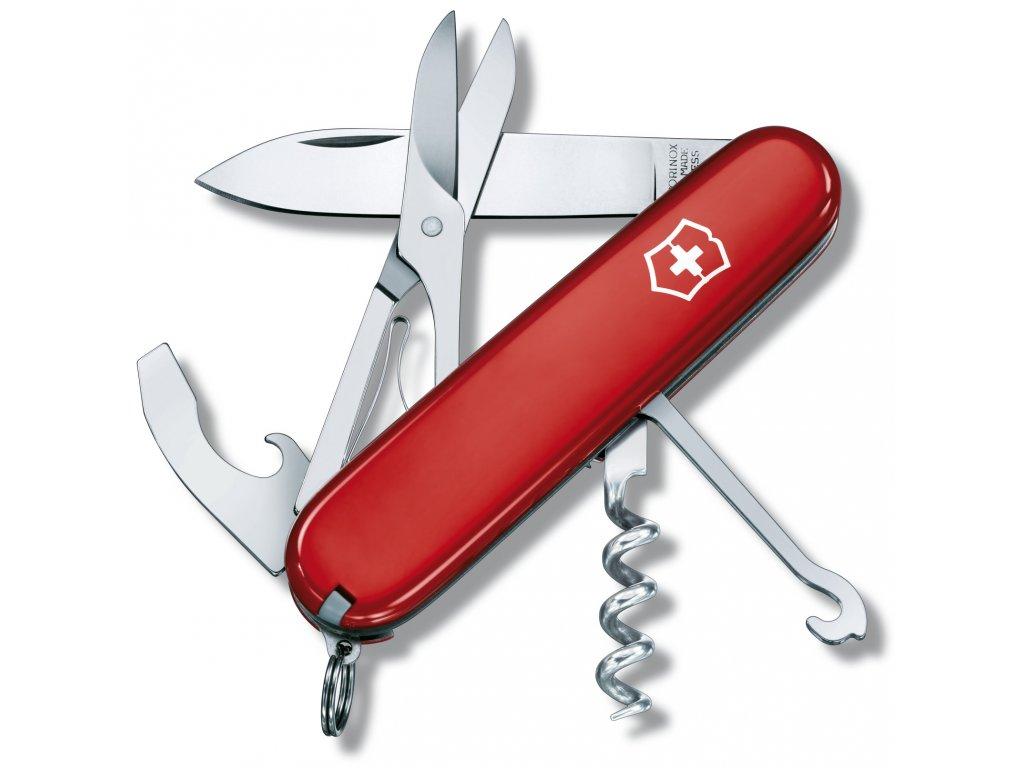 Kapesní nůž COMPACT červený - Victorinox