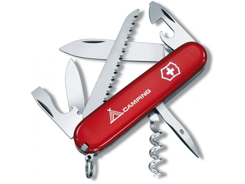 Kapesní nůž CAMPER červený Camping      - Victorinox