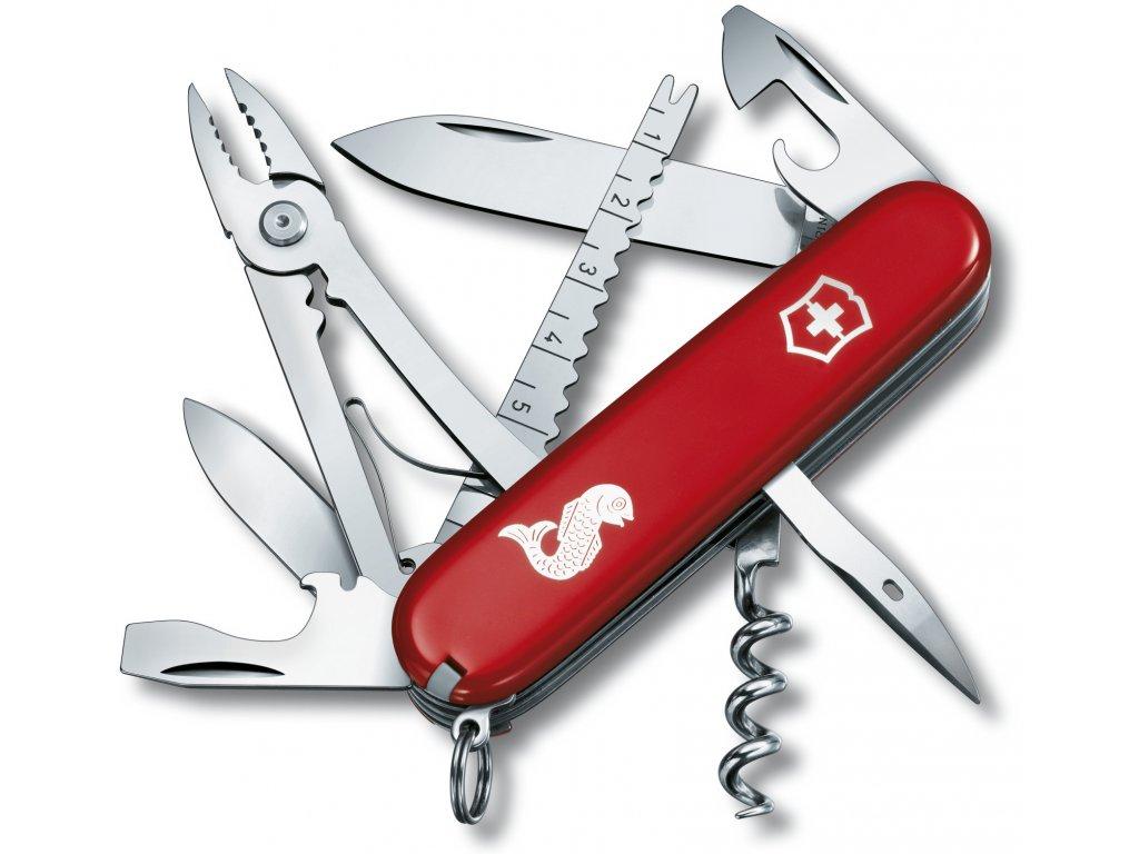 Kapesní nůž ANGLER červený - Victorinox