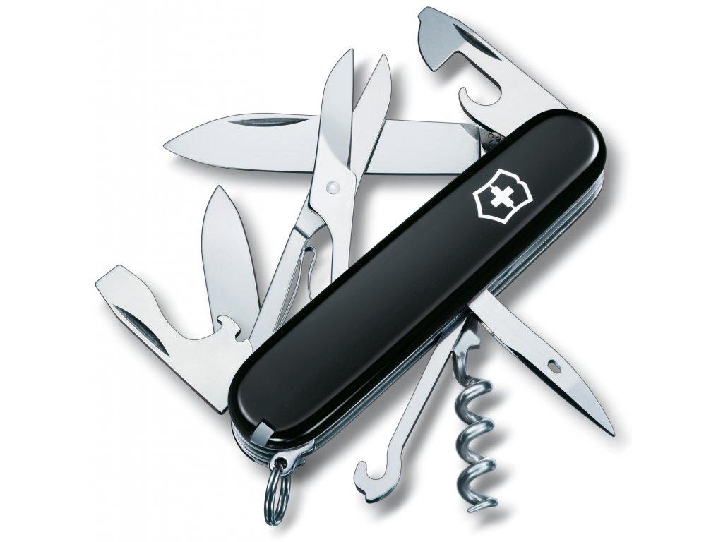 Kapesní nůž CLIMBER černý - Victorinox