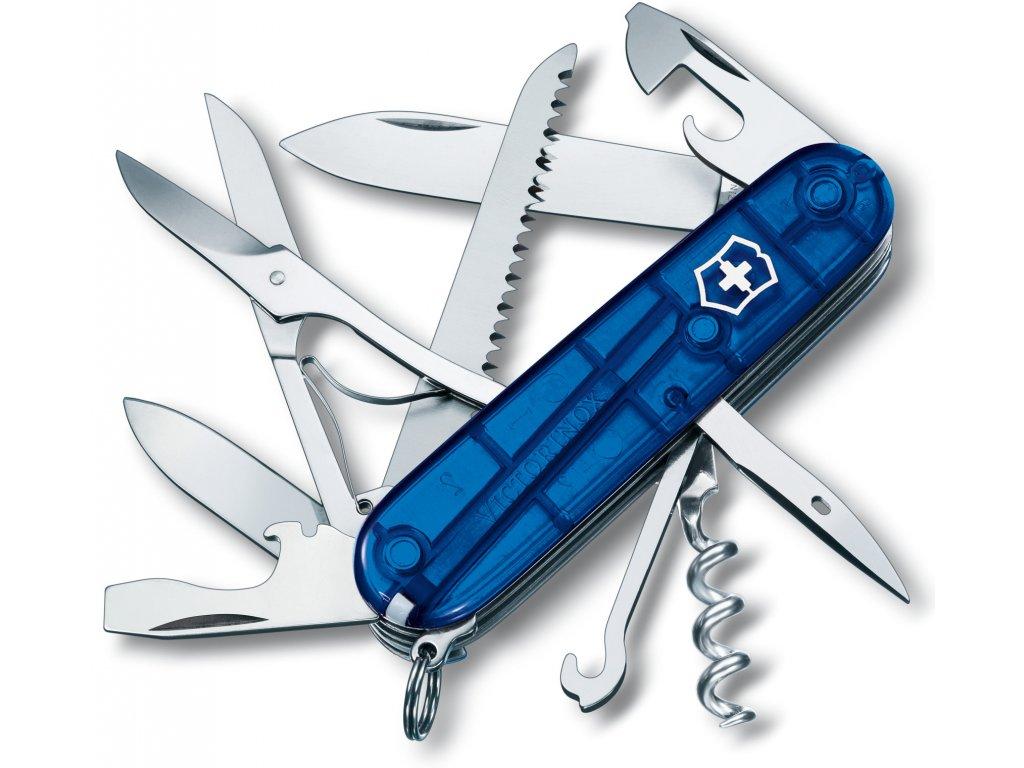 Kapesní nůž HUNTSMAN transparent modrý - Victorinox