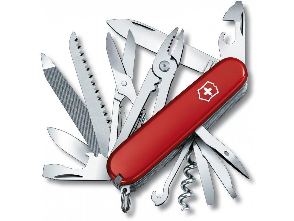 Kapesní nůž HANDYMAN červený - Victorinox
